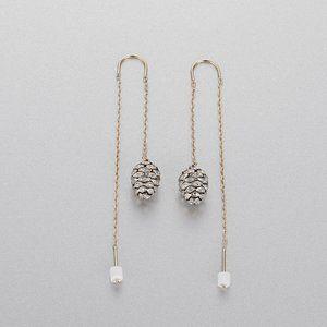 SWAROVSKI MANDARIN PINECONE pine cone earrings